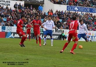 Abraham Real Zaragoza CD Numancia