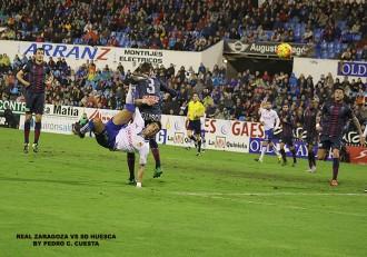 Ángel Real Zaragoza Vs SD Huesca