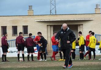 Diego Coco entrenador del SDM Pedrola