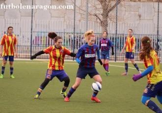 Futbol femenino Zaragoza A - Villanueva