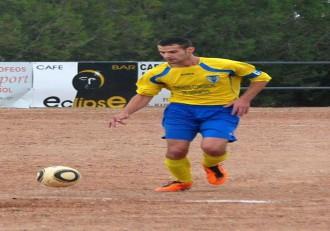Javier Baquero capitán del CF Lécera