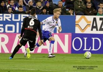 Sergio Gil Real Zaragoza Albacete